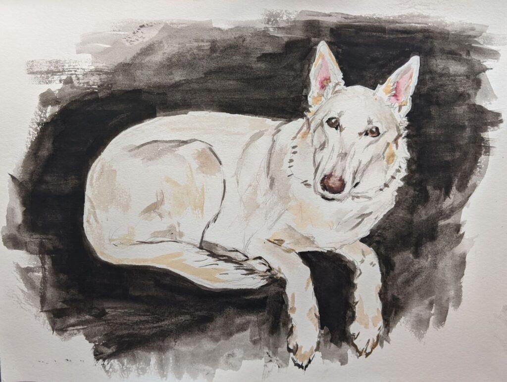 """""""Dog"""" by Elizabeth T."""