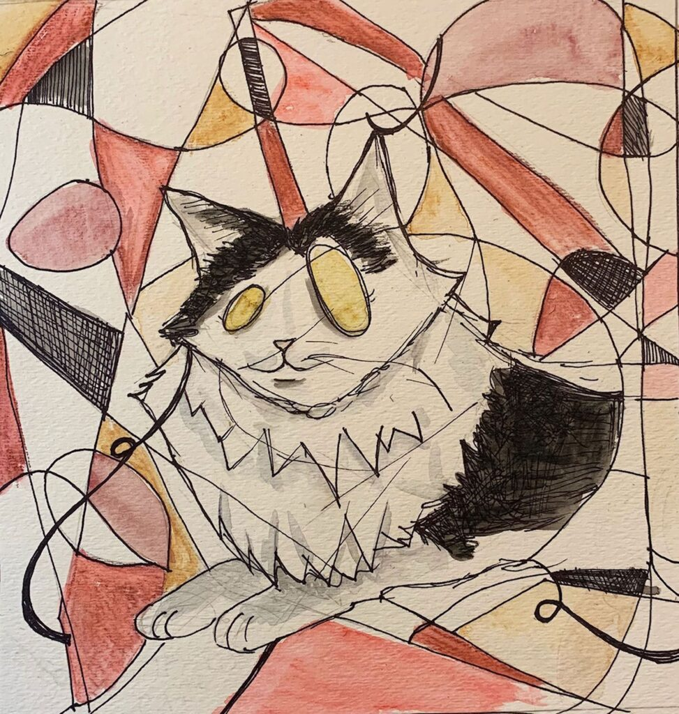 """""""Texaco the Cat"""" by Colleen B."""